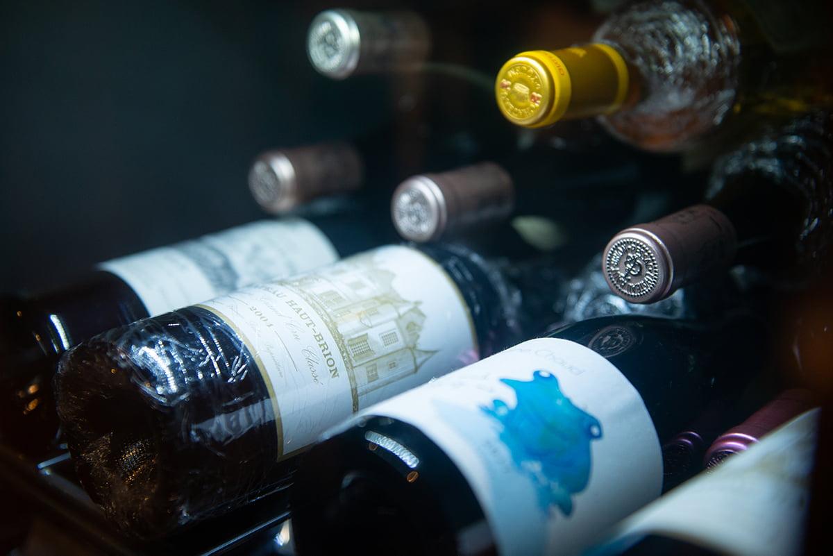 焼肉武田やワインセラー